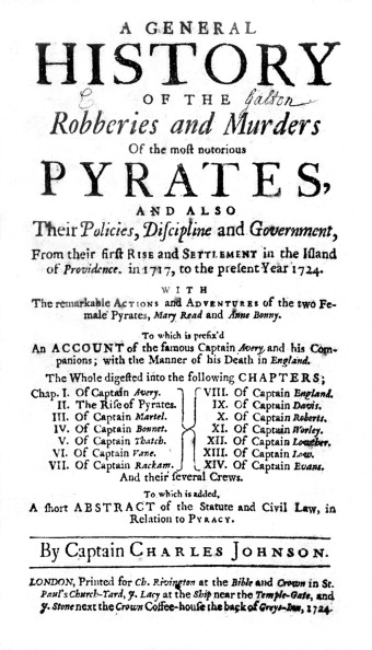 History「Title page of 'A General History of the Pyrates'」:写真・画像(13)[壁紙.com]