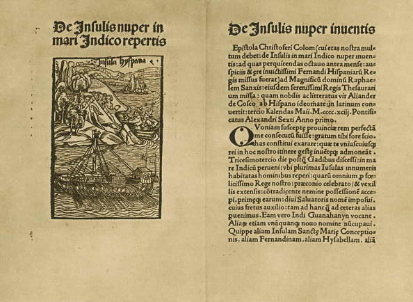 Circa 15th Century「Columbus's letter on the discovery of Hispaniola and Cuba」:写真・画像(18)[壁紙.com]
