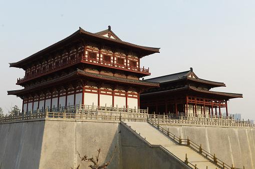 Fortified Wall「Daming Palace,Xian,Shaanxi Province,China」:スマホ壁紙(15)