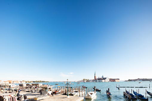 Benedictine「16-century San Giorgio Maggiore Church on the island off Venice's St Mark's Square, Italy」:スマホ壁紙(9)
