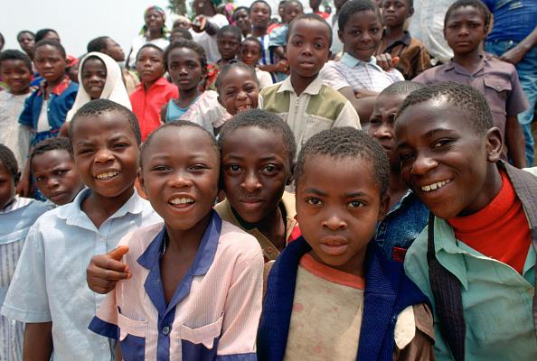 12-13 Years「School children, Cameroon, Africa」:写真・画像(18)[壁紙.com]