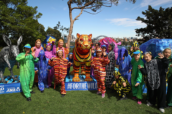Cameron Spencer「Children And Animals Celebrate Together To Mark Taronga Zoo's Centenary Year」:写真・画像(10)[壁紙.com]