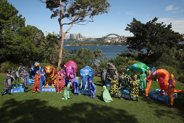 Cameron Spencer「Children And Animals Celebrate Together To Mark Taronga Zoo's Centenary Year」:写真・画像(11)[壁紙.com]