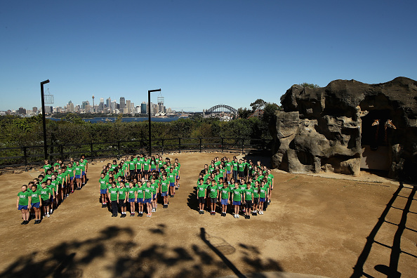 Cameron Spencer「Children And Animals Celebrate Together To Mark Taronga Zoo's Centenary Year」:写真・画像(12)[壁紙.com]