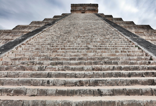 Pyramid Shape「Kukulkan Pyramid, Mexico」:スマホ壁紙(13)