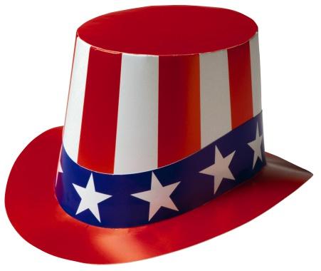 シルクハット「Patriotic top hat」:スマホ壁紙(12)