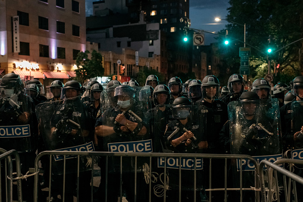 Borough - District Type「Protests Against Police Brutality Over Death Of George Floyd Continue In NYC」:写真・画像(8)[壁紙.com]