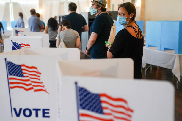 Five States Hold Primaries As Pandemic Continues In America:ニュース(壁紙.com)