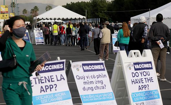 Anaheim - California「Disneyland To Become Orange County COVID-19 Vaccine Mega-Site」:写真・画像(19)[壁紙.com]