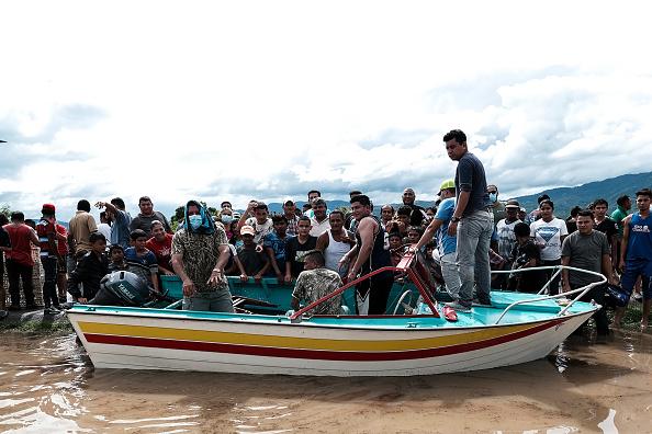 ETA「Aftermath of Tropical Storm Eta in Honduras」:写真・画像(13)[壁紙.com]