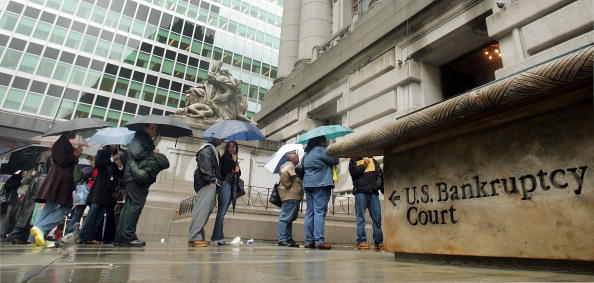 Bankruptcy「Bankruptcy Filers Rush To Beat Deadline」:写真・画像(0)[壁紙.com]