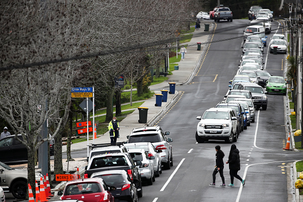 Auckland「New Zealand COVID-19 Restrictions Reintroduced Following New Coronavirus Cases」:写真・画像(18)[壁紙.com]