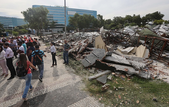 オリンピック「Rio Olympics Media Center Becomes A Health Hazard After Its Destruction」:写真・画像(15)[壁紙.com]