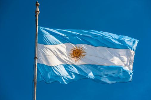 Argentinian Flag「Argentinian flag」:スマホ壁紙(13)
