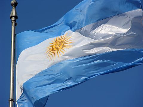 Argentinian Flag「Argentinian flag」:スマホ壁紙(12)