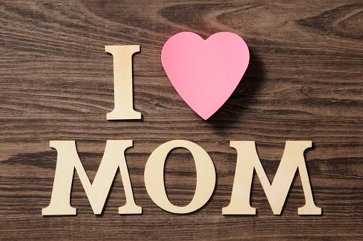 母の日「I love mom」:スマホ壁紙(7)