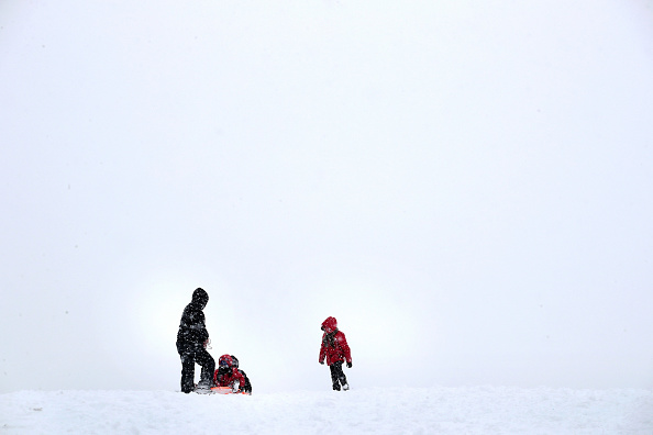 Snow「Winter Storm Brings Over 6 Inches Of Snow To Chicago」:写真・画像(1)[壁紙.com]