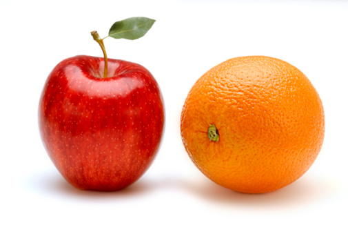 Apple「Apple and Orange」:スマホ壁紙(18)