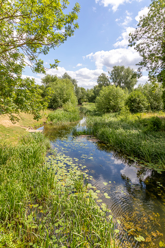 Water's Edge「Summertime in Constable Country - The River Stour at Nayland, Suffolk UK」:スマホ壁紙(2)