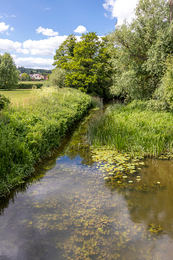 Water's Edge「Summertime in Constable Country - The River Stour at Nayland, Suffolk UK」:スマホ壁紙(3)