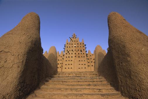 UNESCO「Djenne Mosque, Djenne, Mali, Africa」:スマホ壁紙(5)