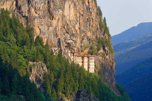 Greek Orthodox「Turkey, Province Trabzon, Pontic Mountains, Sumela Monastery」:スマホ壁紙(17)