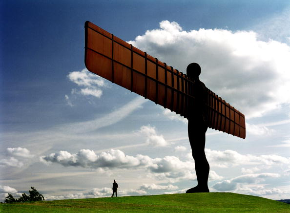 Sculpture「Angel of the North」:写真・画像(2)[壁紙.com]
