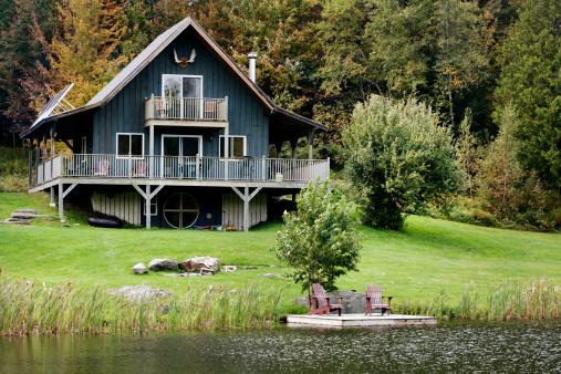 Deck Chair「Cottage by the Lake」:スマホ壁紙(14)