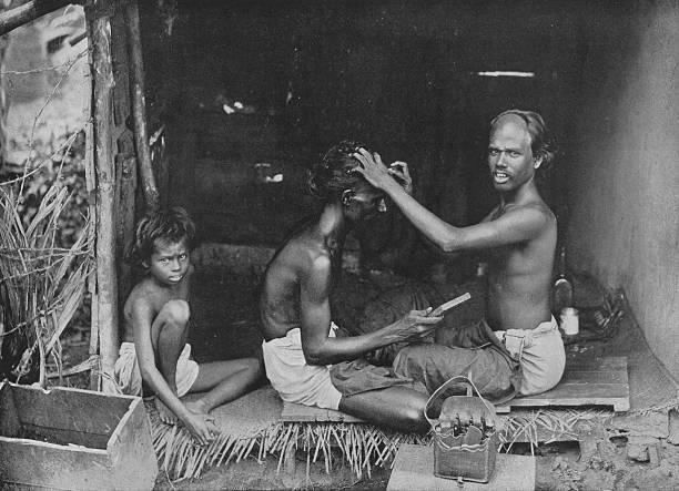 'A Ceylon Shave', c1890,:ニュース(壁紙.com)