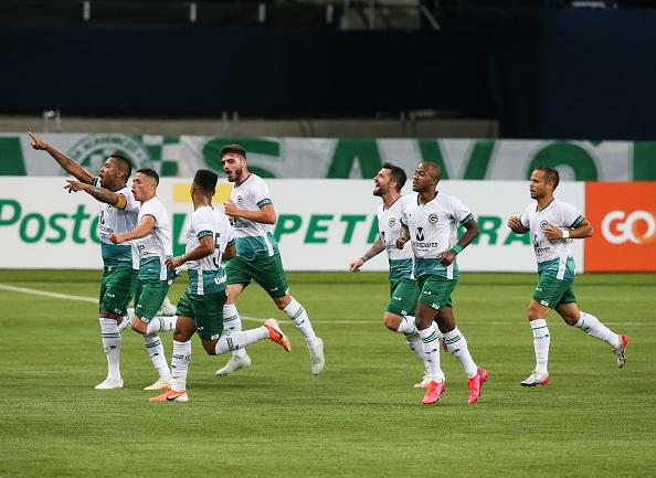 Campeonato Brasileiro Série A「Palmeiras v Goias Play Behind Closed Doors the First Round of the 2020 Brasileirao Series A Amidst the Coronavirus (COVID - 19) Pandemic」:写真・画像(12)[壁紙.com]