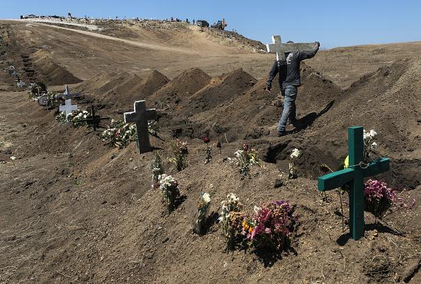 Tijuana「Tijuana Becomes Hot Zone Amid Coronavirus Pandemic In Mexico」:写真・画像(14)[壁紙.com]