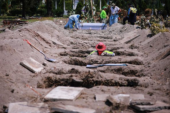 Mexico「Burials of Covid-19 Victims Increase in Mexico City」:写真・画像(6)[壁紙.com]