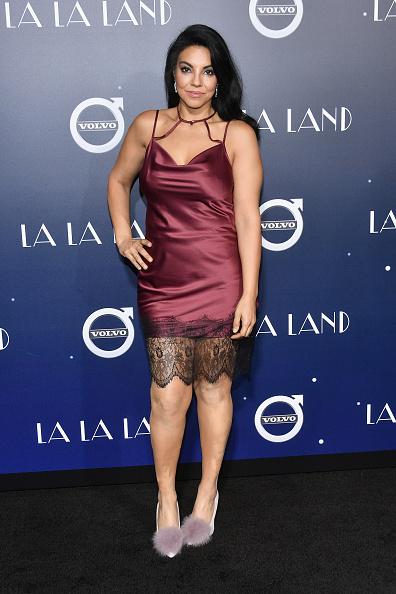 ドレス「Premiere Of Lionsgate's 'La La Land' - Arrivals」:写真・画像(10)[壁紙.com]
