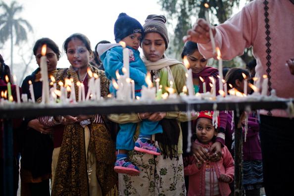 Delhi「Christians Celebrate Christmas In New Delhi」:写真・画像(17)[壁紙.com]
