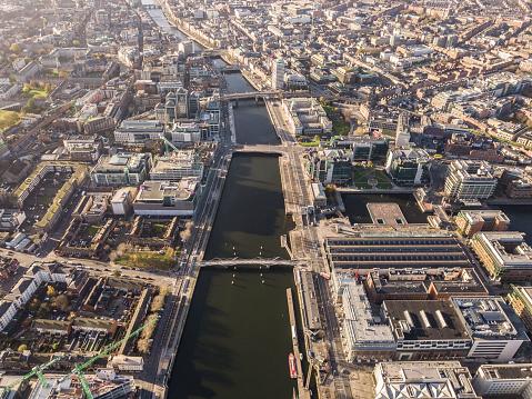 Dublin - Republic of Ireland「Dublin from above」:スマホ壁紙(11)