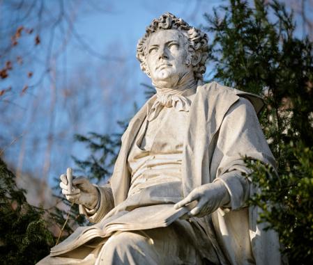 Classical Musician「Franz Schubert Statue in Vienna Stadtpark」:スマホ壁紙(0)
