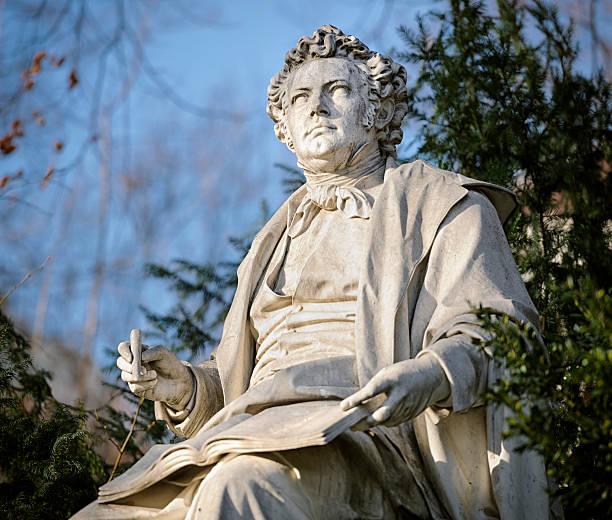 Franz Schubert Statue in Vienna Stadtpark:スマホ壁紙(壁紙.com)