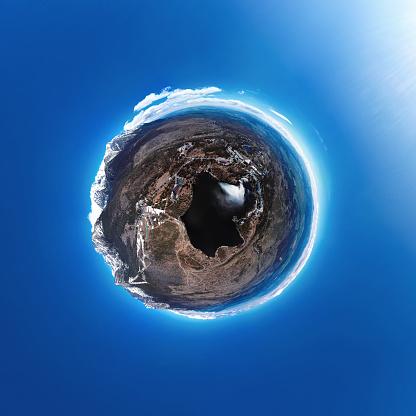 リゾート「高タトラ山脈、スロバキアのリゾートは山脈の小さな惑星パノラマ」:スマホ壁紙(3)