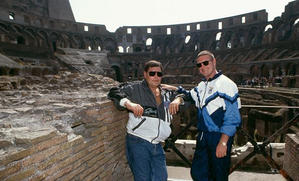 Father「John and Paul Gascoigne Rome 1991」:写真・画像(17)[壁紙.com]