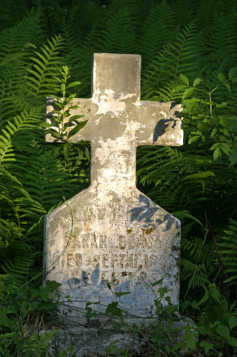Isle of Man「Tomb stones in an old grave yard」:スマホ壁紙(18)