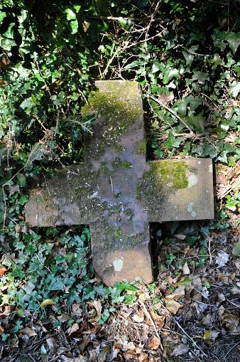 Isle of Man「Tomb stones in an old grave yard」:スマホ壁紙(16)