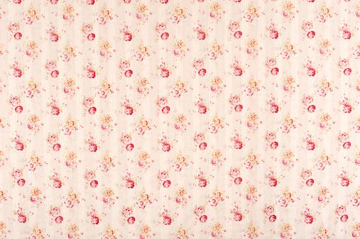 Floral Pattern「Colby Bouquet Antique Floral Fabric」:スマホ壁紙(11)