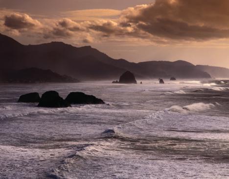 Cannon Beach「Oregon Coast」:スマホ壁紙(5)