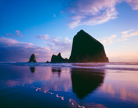 Cannon Beach「Oregon Coastline」:スマホ壁紙(6)