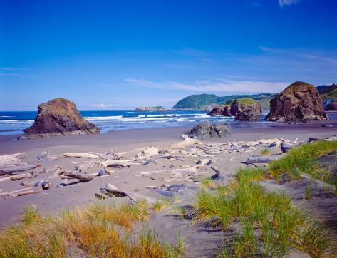 Cape Sebastian「Oregon Coastline」:スマホ壁紙(2)