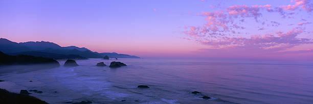Oregon Coastline Sunset:スマホ壁紙(壁紙.com)