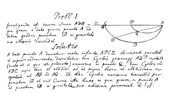 Problems「Newton's solution to the Brachistochrone problem」:写真・画像(17)[壁紙.com]