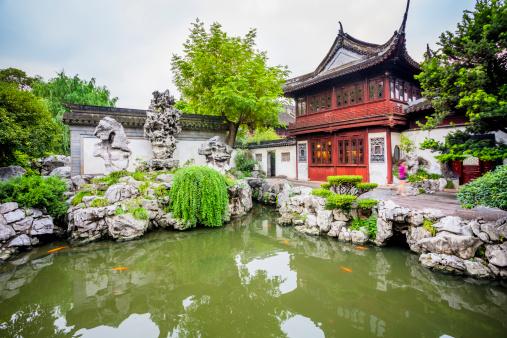 Shanghai「yuyuan garden」:スマホ壁紙(14)