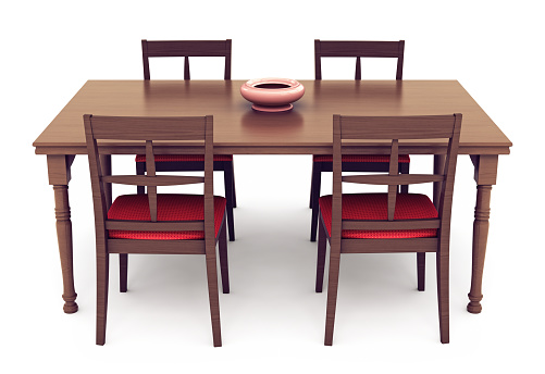 Dining Table「Dining Table and Chairs」:スマホ壁紙(4)