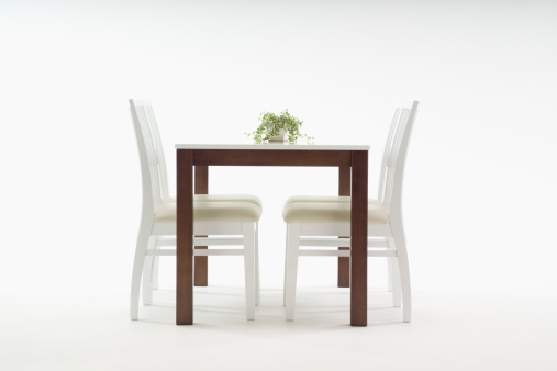 Side View「Dining table and chairs」:スマホ壁紙(9)